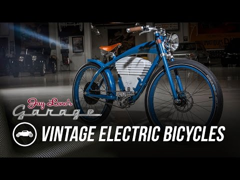 Vintage Electric Bicycles – Jay Leno's Garage