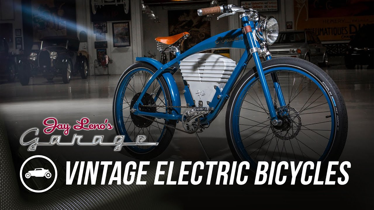 Vintage Electric Bicycles Jay Leno S Garage Youtube