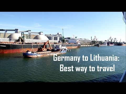The Best way to travel from Germany to Lithuania