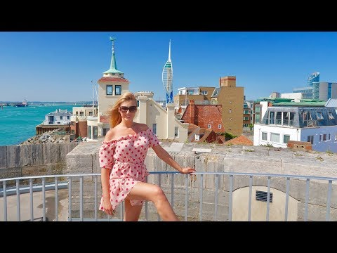 TOP 3 Things to DO in Portsmouth 😍 Shopping, Beach & Food