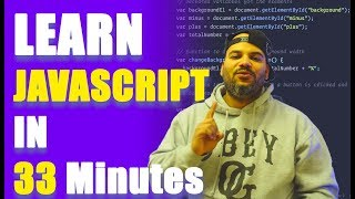 ⭐⭐⭐⭐⭐ JavaScript Tutorial for Beginners: Learn JavaScript in 33 Minutes [2020]