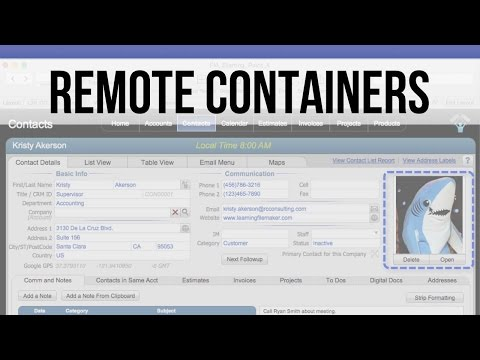 Remote Containers | FileMaker 14 Training Videos