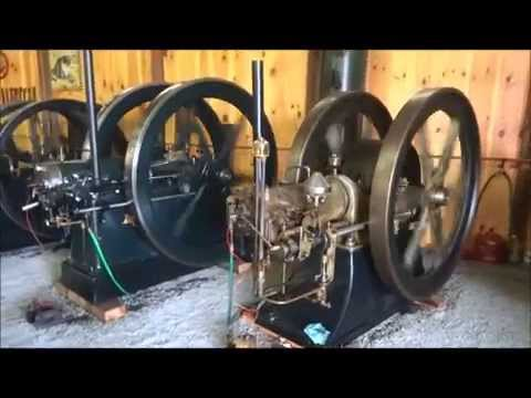 Whately Engine Museum Show 2014 antique steam and gas engines