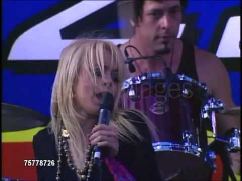 Lindsay Lohan Medley Speak & First Performance Live Kiss Fm Wango Tango HD
