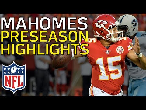 Patrick Mahomes Named Starter in Week 17: Full Preseason Highlights | NFL Highlights