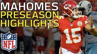 Patrick Mahomes Named Starter in Week 17: Full Preseason Highlights   NFL Highlights thumbnail