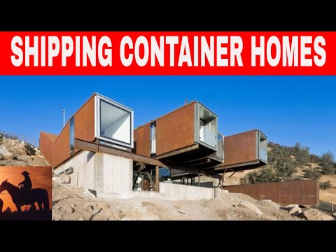 Shipping Container Homes Caterpillar House