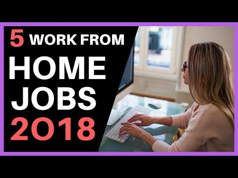 5 WORK FROM HOME JOBS 2018 - $400 PER DAY