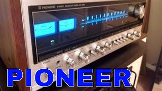Amazing Pioneer SX-939 Vintage Stereo Receiver - Uncovered !!