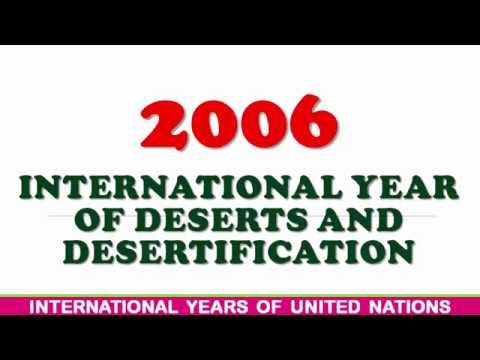 UNITED NATIONS| INTERNATIONAL YEARS| FROM 2006 TO 2016