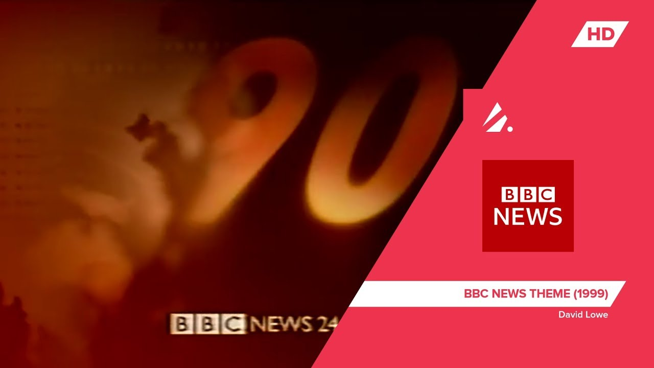Bbc News David Lowe Bbc News Theme 1999 Broadcast Theme Music Youtube