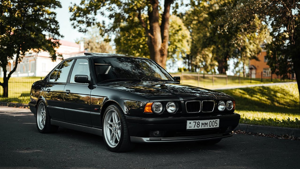BMW M5 E34 - Легенда из 90х!