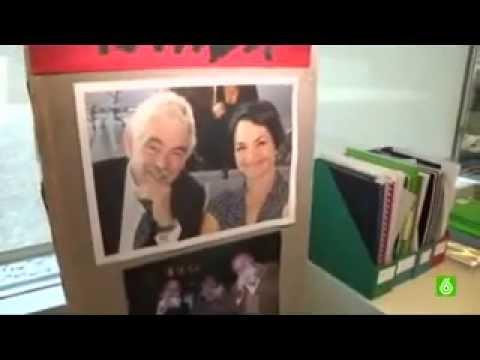 """El PRBB y la Fundación Pasqual Maragall en el programa """"Mundo Oficinas"""" de la Sexta TV."""