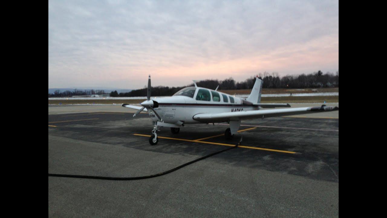 Bonanza Landing at KIAD