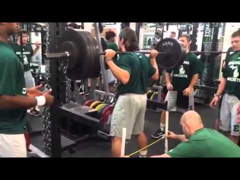 Brody Hoying Squat - 445