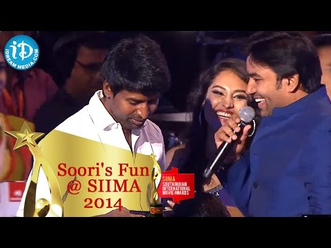 Soori Makes Funny Comments On Shiva || Tamil SIIMA 2014