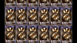 KINGS OF THE COURT PACK OPENING!!! NBA LIVE MOBILE