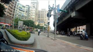 Taipei Bridge Scooter Migration 台北橋機車遷移