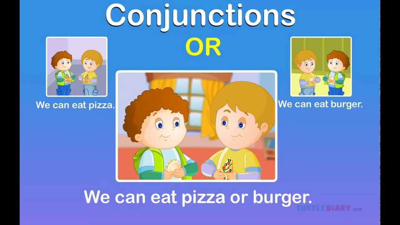 Conjunctions Game for Grade 2 | Learn Connecting Words - YouTube