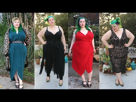 Plus-Size Fashion Try On Haul Holiday Party Lookbook