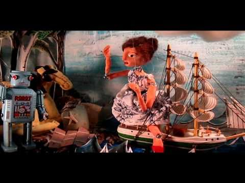 Toy With Me by Joey O'Neil: A Toy Theatre Stop Motion Animation Music Video!