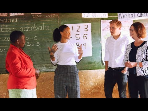 Rihanna visits Malawi to champion education