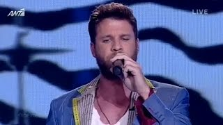 Άκης Παναγιωτίδης - Time is running out | The Voice of Greece - 3rd Live Show (S02E15)