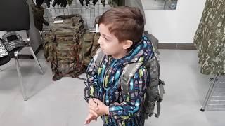 ✅VLOG: Военная форма для детей и папы!