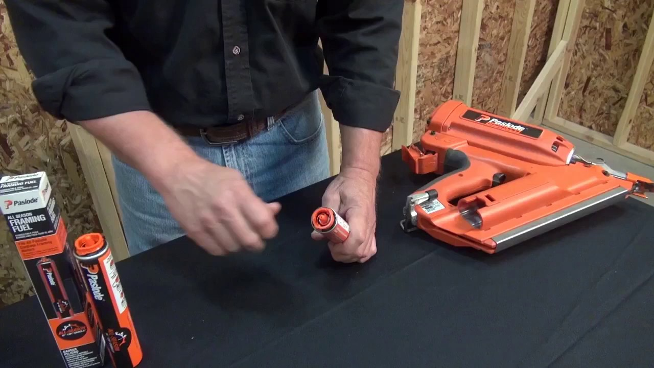 How To Install Paslode Framing Fuel Cells Youtube