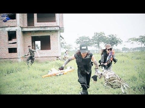 LTT Nerf War : SEAL TEAM Female Assassin | Fighting with data theft criminals 🕶🕵