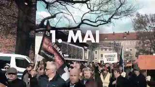 Demo Cottbus 1. Mai - Sozial ohne rot zu werden