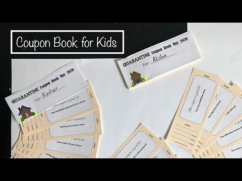 Coupon Book for Kids | Printable Fun Coupons for Kids at Home