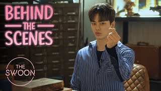 [Behind the Scenes] Song Kang and Jung Ga-ram look after Kim So-hyun | Love Alarm [ENG SUB]