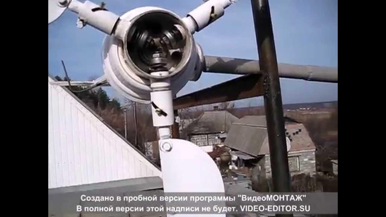 самодельный ветровой генератор