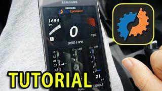 Bluetooth OBD II Tutorial [ELM327] DashCommand App