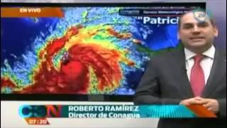 Últimas noticias sobre el paso del huracán Patricia por el pacífico mexicano