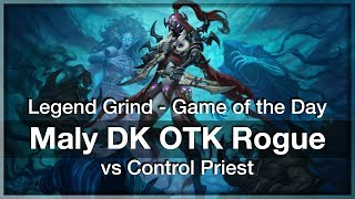 HS: GotD #193 Math - Malygos Death Knight OTK Rogue vs Control Priest