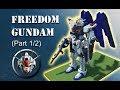 Minecraft Gundam: Freedom - How it's Made (Part 1/2)