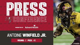 Antoine Winfield Jr. on Football Legacy & Super Bowl Expectations   Press Conference