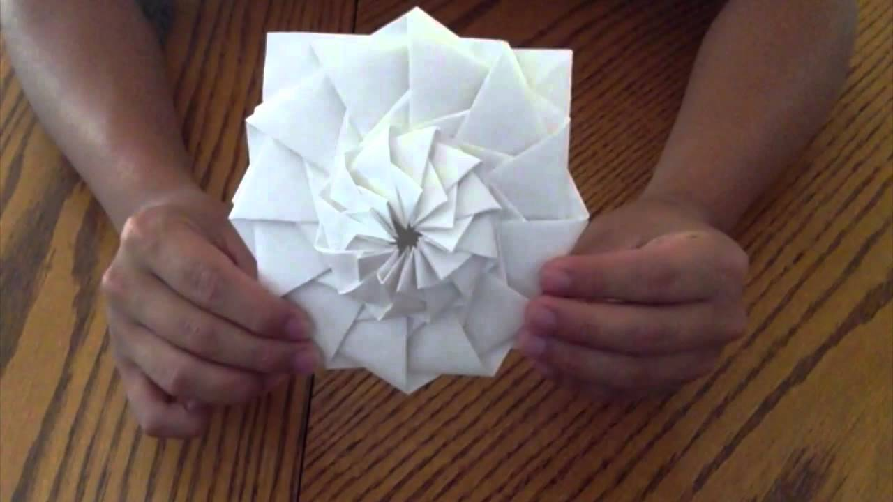 Origami flower tower chris palmer anthony t steven w neville t origami flower tower chris palmer anthony t steven w neville t tim k youtube mightylinksfo