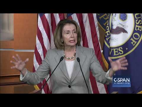 "Nancy Pelosi: ""Congressman Conyers should resign."" (C-SPAN)"