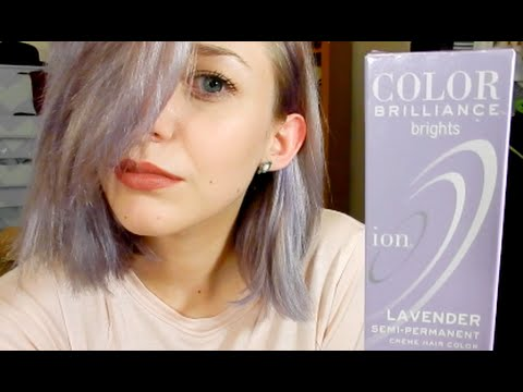 Smoky Lavender Hair Ion Color Brilliance