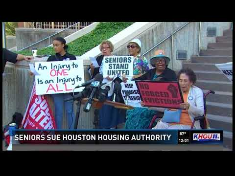 Seniors sue Houston Housing Authority