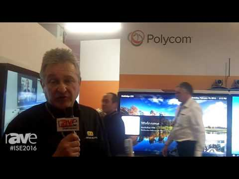 ISE 2016: Polycom Shows off the RealPresence Medialign 270