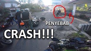 CRASH PARAH DI TAWANGMANGU!!!