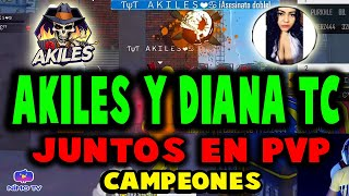 AKILES Y DIANA TC vs VERZA 320 Y PUKHLE BB || FINAL TORNEO EN DUO DE PVP || FREE FIRE