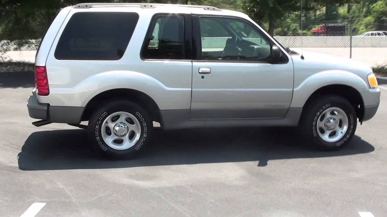 For Sale 2002 Ford Explorer Sport Low Mileage 1 Owner Stk 11626b