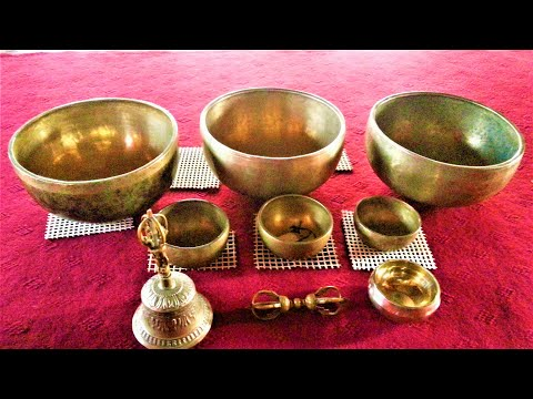 Meditation music for positive energy 凉凉 竹笛深情吹奏/Nepali Flute and Singing Bowls/ by Raman Maharjan