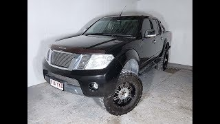 4x4 Turbo Diesel Dual Cab Manual Ute Nissan Navara D40 2010 Review For Sale