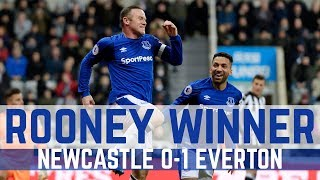 WINNING GOAL: NEWCASTLE 0-1 EVERTON